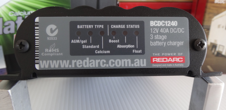 Redarc BCDC charger
